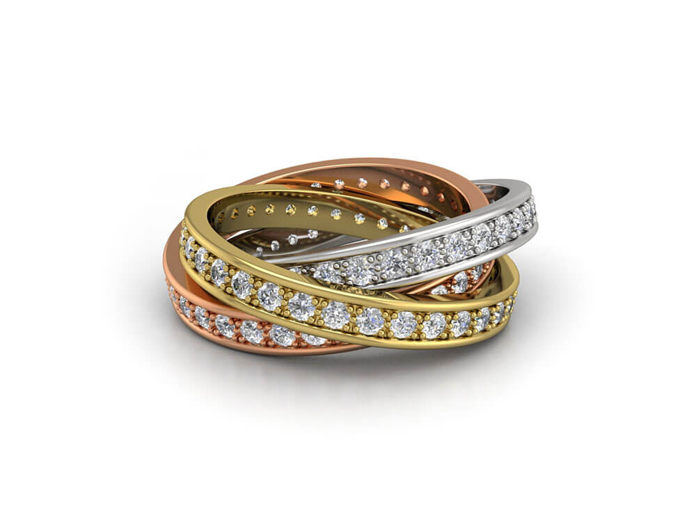 Gold is one of the most popular metals for jewellery.
