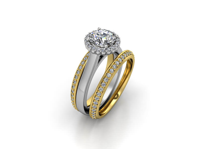 Gold, silver and platinum are some of the most popular metals for jewellery.