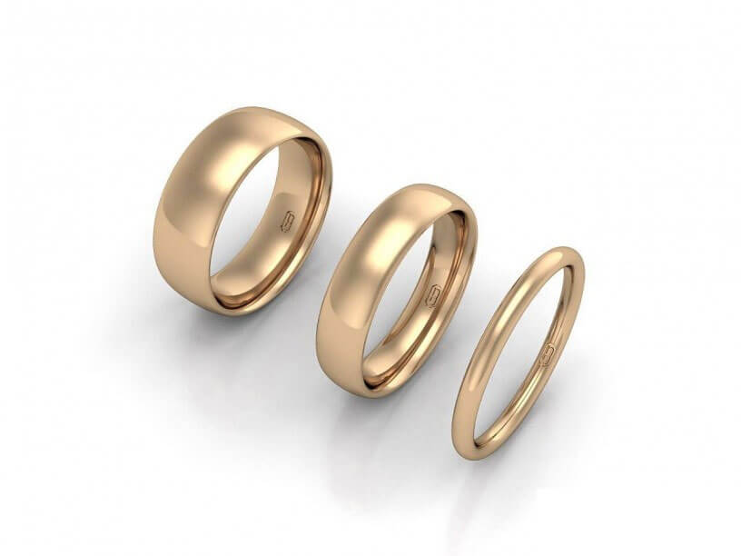 Comfort Wedding Ring - JG-CW-R