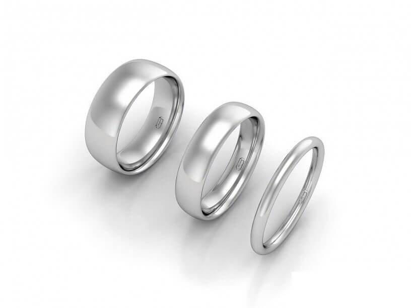 Comfort Wedding Ring - JG-CW-W