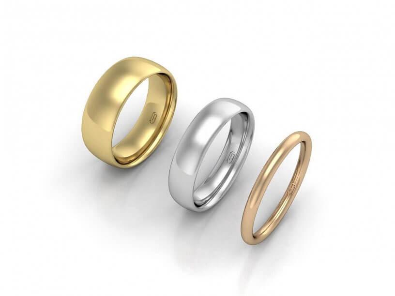 Comfort Wedding Ring - JG-CW
