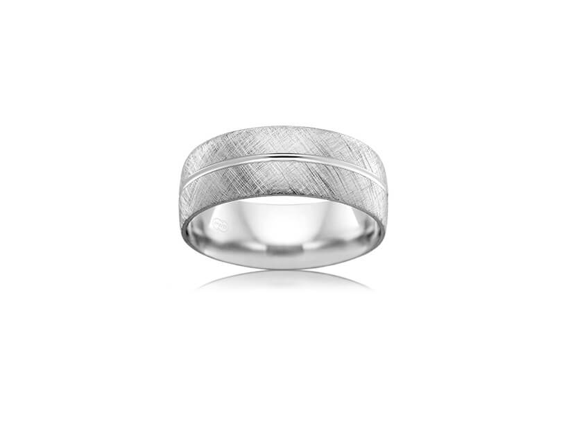 Wedding Ring - B2624 - White Gold