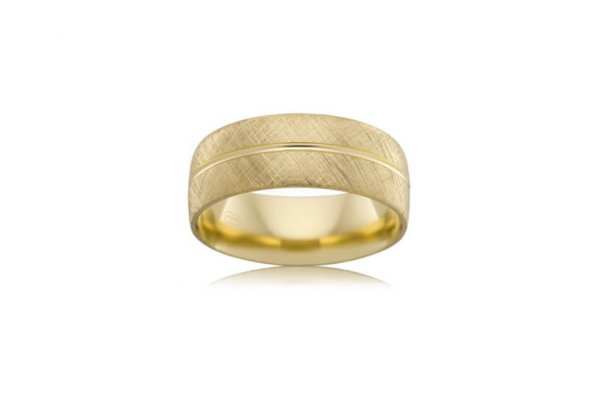 Wedding Ring - B2624 - Yellow Gold