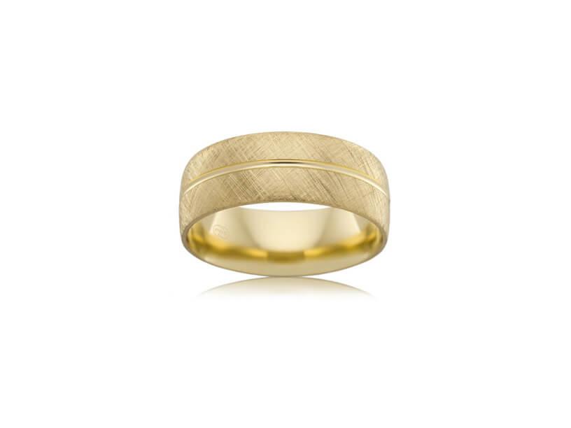 Wedding Ring - B2624 - Yellow Gold
