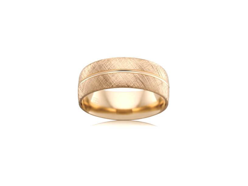 Wedding Ring - B2624 - Rose Gold