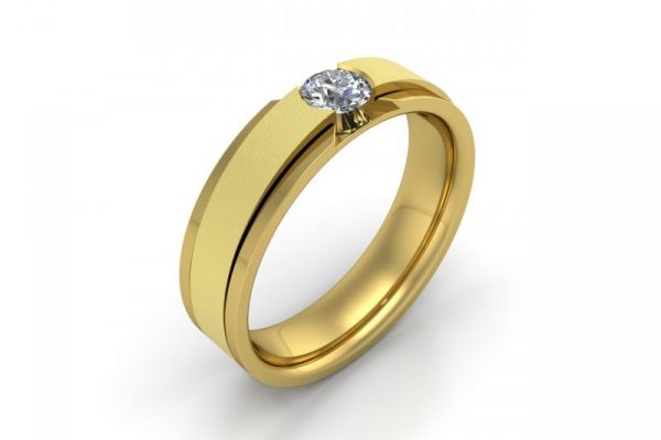 Proteus-JG-132-Yellow Gold-view one