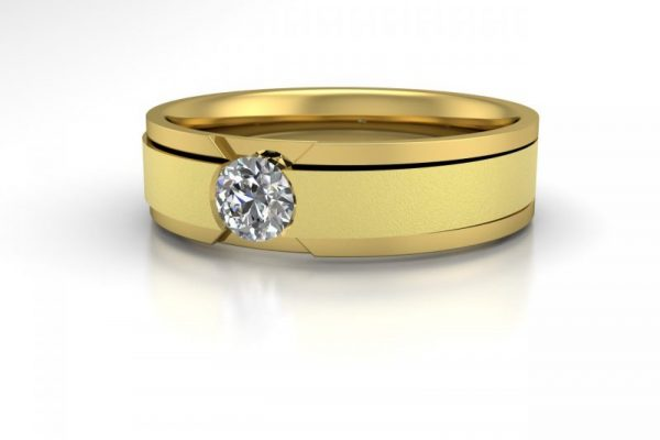 Proteus-JG-132-Yellow Gold-view two